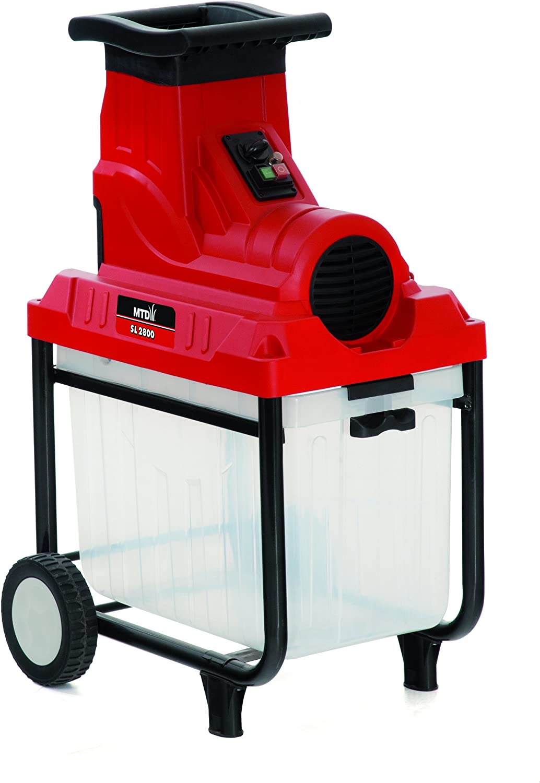 MTD 24AC7G2C600 Biotrituradora Eléctrica, 2500 W, 230 V, Rojo