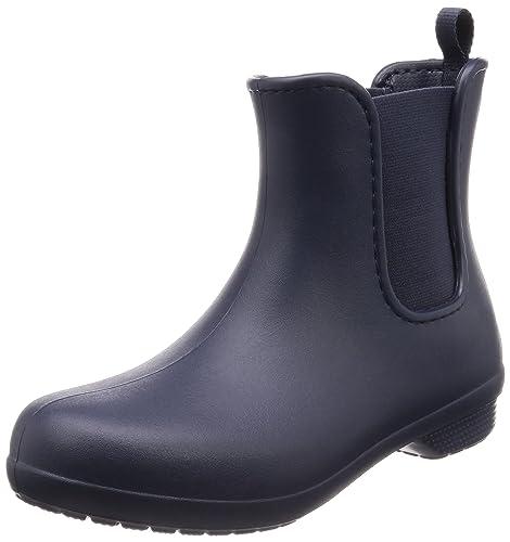 Freesail Chelsea Boot Women, Botas de Agua para Mujer, Azul (Navy), 42/43 EU Crocs