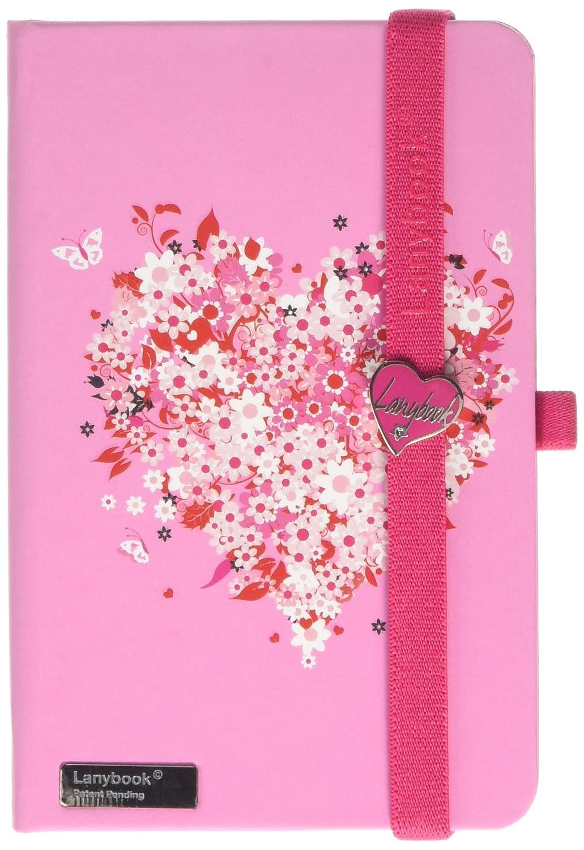 Lovestruck Lanybook Notizbuch, A6, A6, A6, kariert, inklusive Froschtasche, Hardcover, 192 Seiten, Rosa Rosa B00VMAKXUY | Großer Verkauf  | Moderne Technologie  | Langfristiger Ruf  094727
