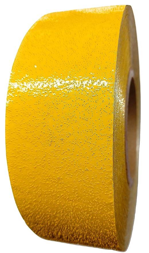 ifloortape amarillo o blanco reflectante cinta de señalización ...