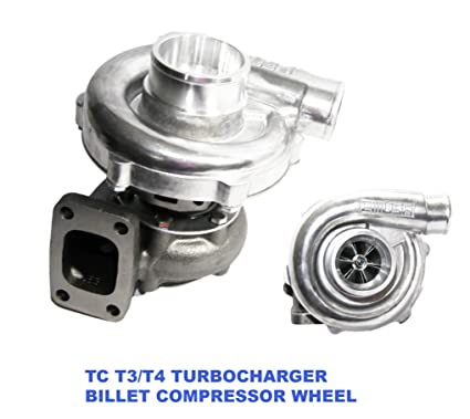 Billet Wheel EMUSA T3/T4 Hybrid Turbo Charger .50 A/R Compressor .