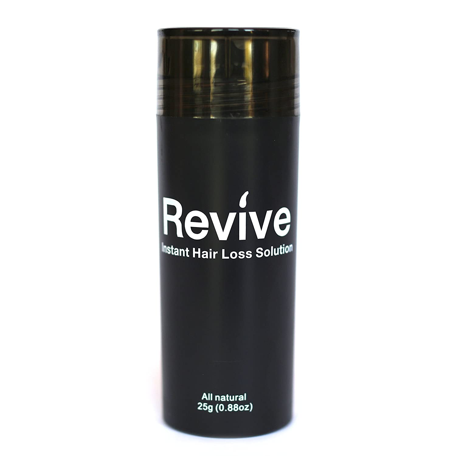 Revive 25 Gram Bottle Hair Fibers Instant Hair Loss Solution, Color: Dark Brown Capital Collective Inc
