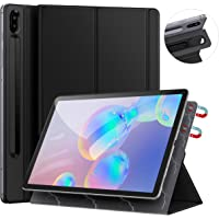 ZtotopCase for Samsung Galaxy Tab S6 10.5 Inch 2019, Strong Magnetic Ultra Slim Tri-Fold Smart Case Cover with Auto Sleep/Wake for SM-T860/T865 Samsung Galaxy Tab S6 10.5 Black