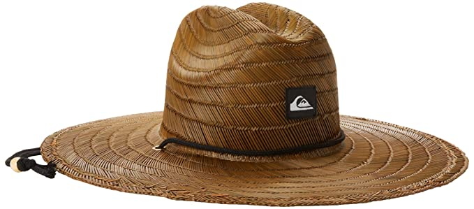 Quiksilver Men s Pierside Straw Hat Brown  Amazon.ca  Clothing ... 4b18232e058