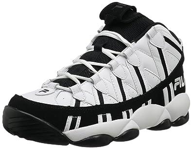 fila basketball shoes. fila men\u0027s spaghetti basketball shoe,white/black,15 shoes y