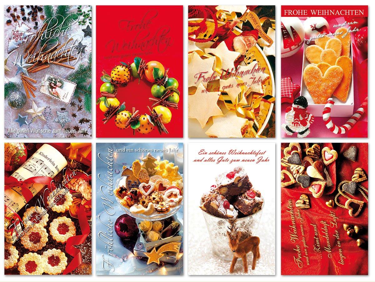 Weihnachtskarten Mit Duft.40 Grußkarten Hochwertige Weihnachtskarten Weihnachten Duft Karte