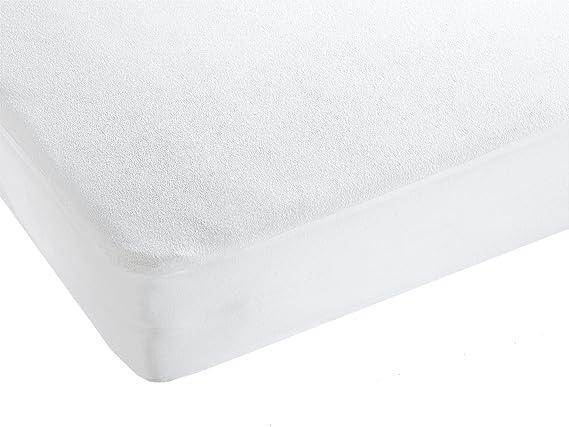 ZOLLNER Protector de colchón para Cuna Impermeable y Transpirable, 70x140 cm: Amazon.es: Juguetes y juegos