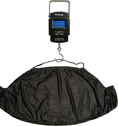 NGT Digital Fishing Scales /& Weigh Sling Fish Aid Carp Coarse Fishing Set