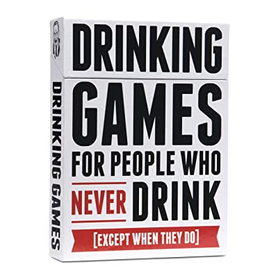 Drinking Games for People Who Never Drink [50 Drinking Games]: Toys & Games