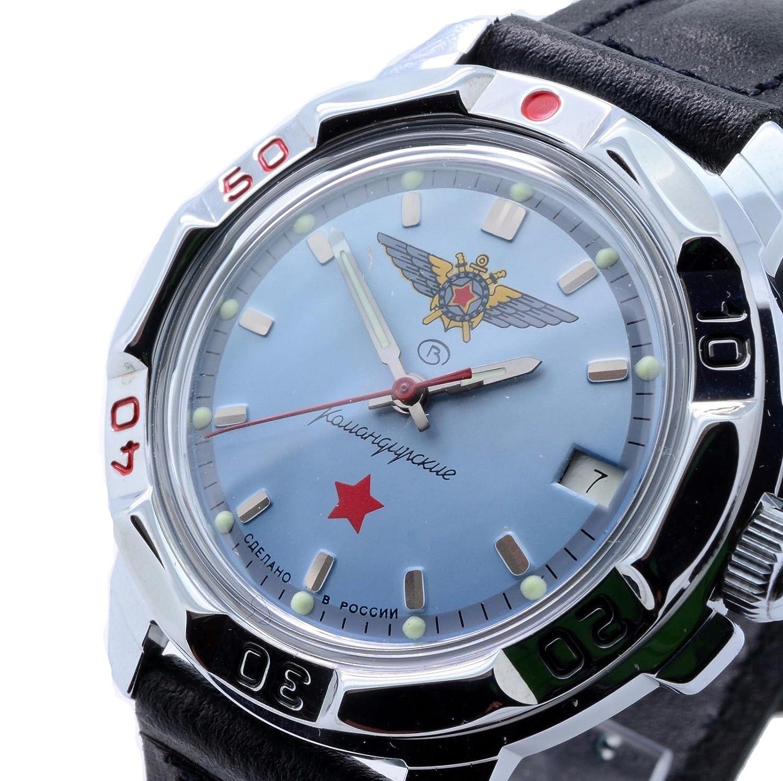 Vostok Komandirskie 811290 / 2414a Military Special Red Star ...