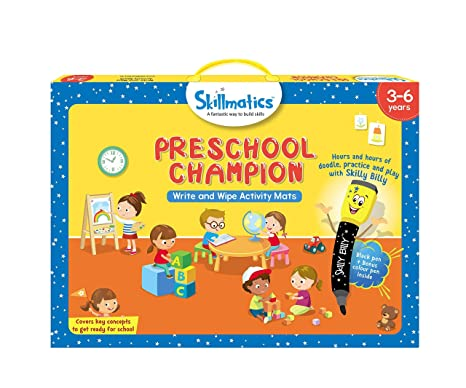 Amazon Com Skillmatics Educational Game Preschool Champion 3 6