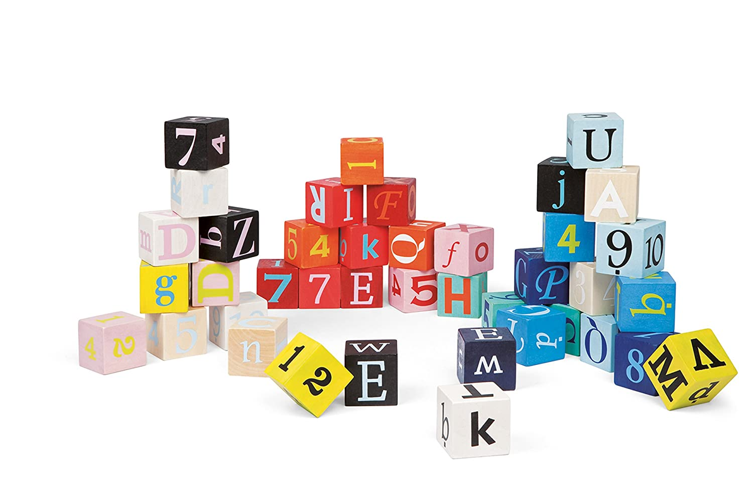 Janod Letters and Numbers Blocks