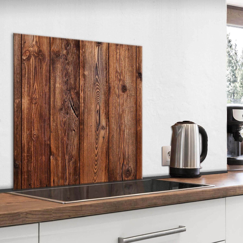 murando Spritzschutz Glas für Küche 19x19 cm Küchenrückwand