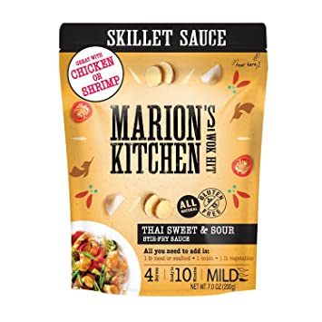 Thai Sweet Sour Skillet Stir Fry Sauce By Marion S Kitchen Bulk 8 Pack Healthy All Natural Gluten Free