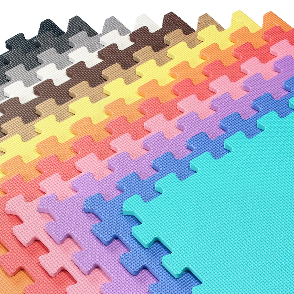 Amazon we sell mats 2x2 foam interlocking anti fatigue amazon we sell mats 2x2 foam interlocking anti fatigue exercise fitness gym soft yoga trade show play room basement square floor tiles borders dailygadgetfo Choice Image