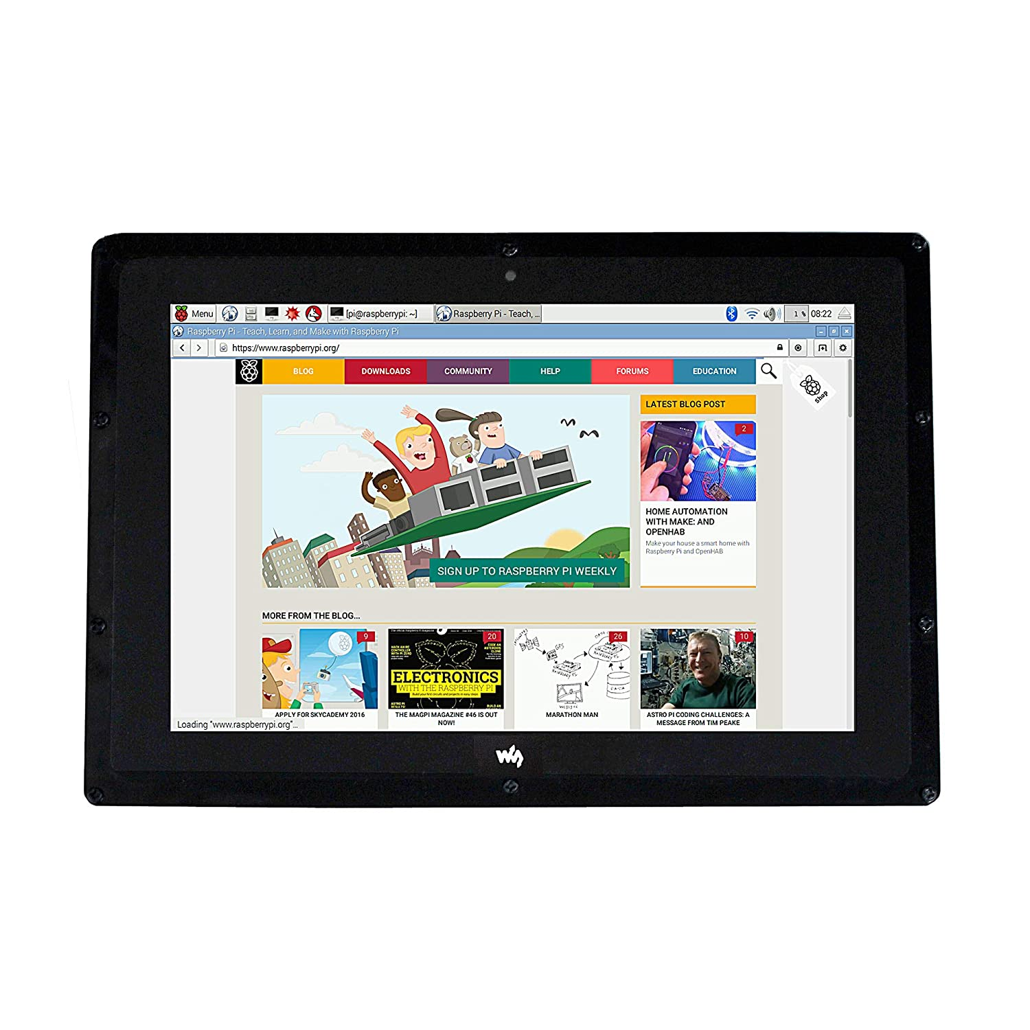 Amazon com: CQRobot 10 1 inch HDMI LCD with Case, Compatible