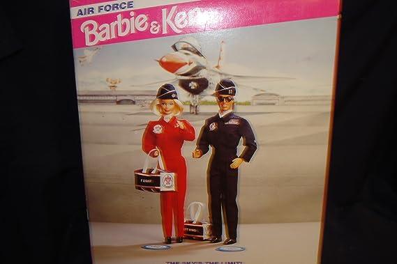 Barbie and Ken doll Air Force Stars n Stripes Deluxe Set Mattel 11581