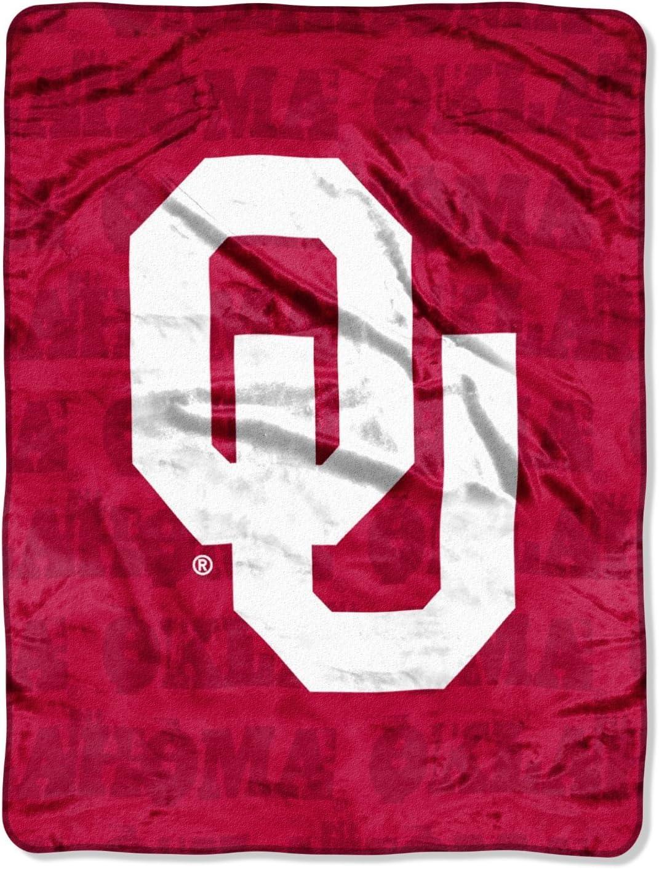The Northwest Company University of Oklahoma OU 46x60 inch Micro Raschel Plush Blanket Throw