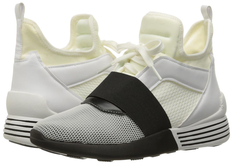 KENDALL + KYLIE Women's Braydin Sneaker B01JMRZ57E 6 B(M) US|White/Black