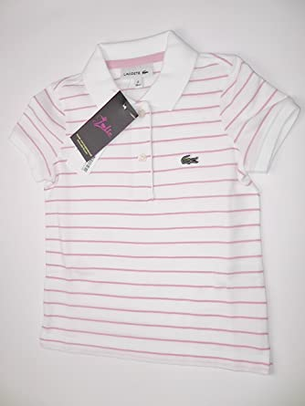 b1df9407cde2 Lacoste Boys  Polo Shirt Pink Rose  Amazon.co.uk  Clothing