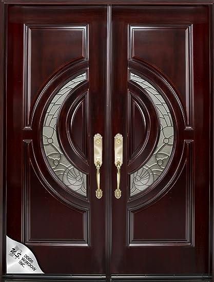 M580E 30u0026quot;X80u0026quot;2u0027u0027 Right Hand Swingin Exterior Front Entry Double  Door