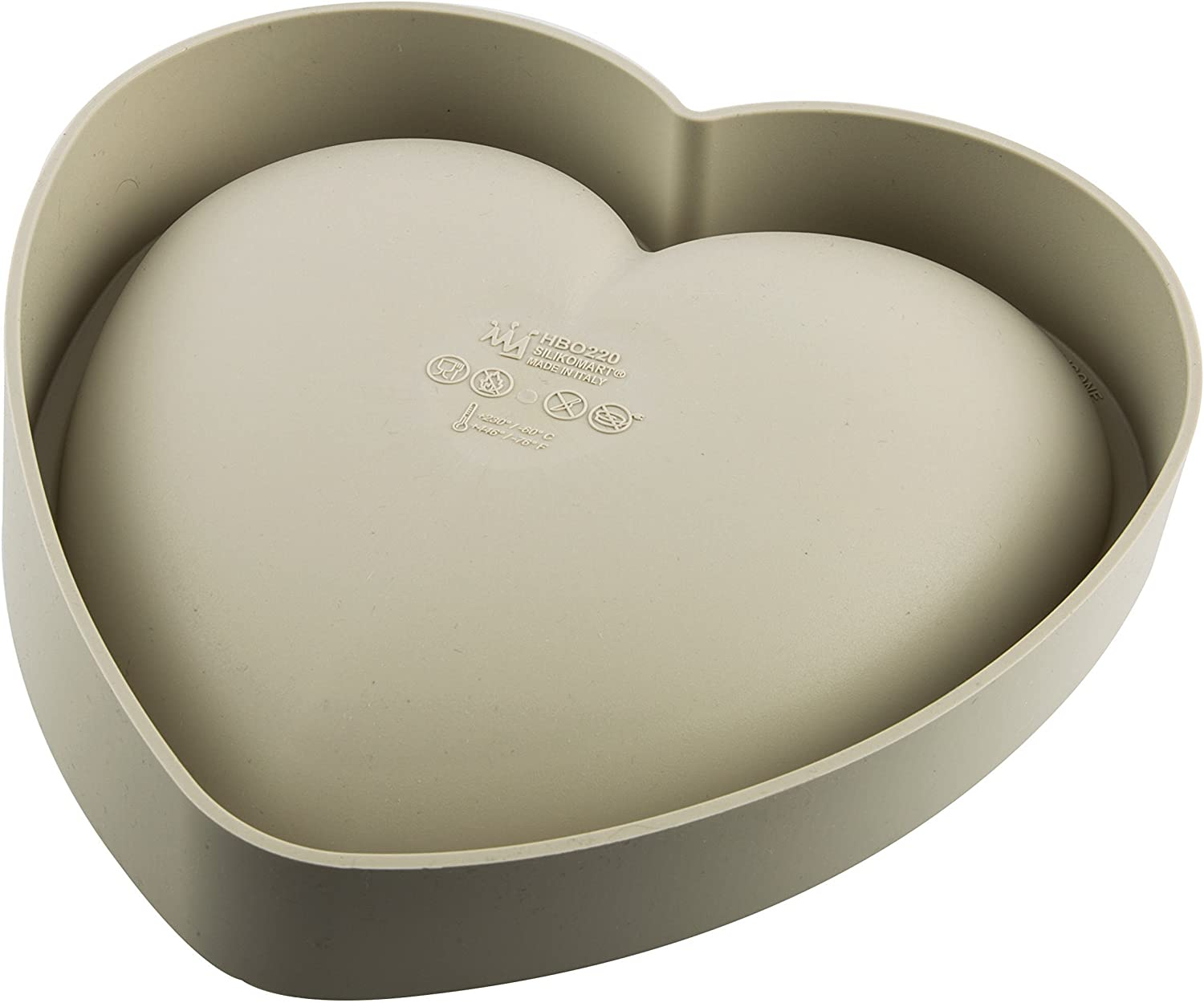 moule coeur silicone
