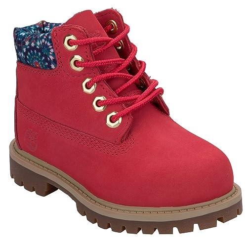 Timberland - Botas para niña Rosa Rosa: Timberland: Amazon.es: Zapatos y complementos