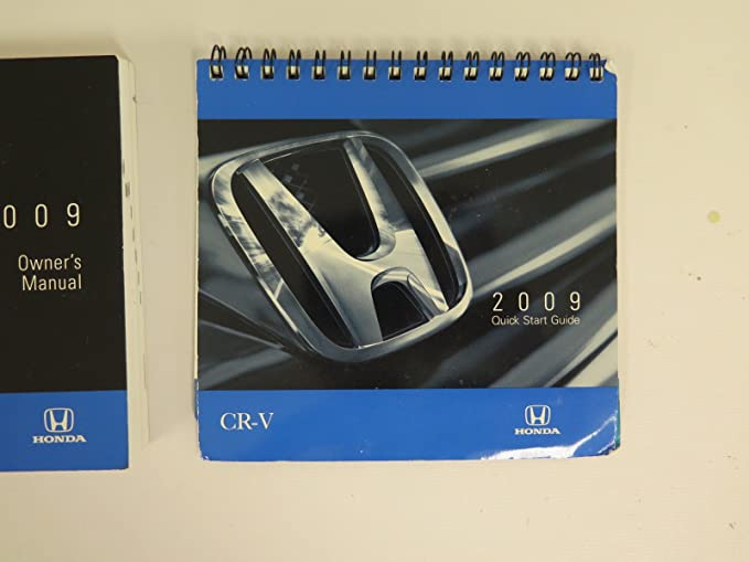 2009 cr v owners manual
