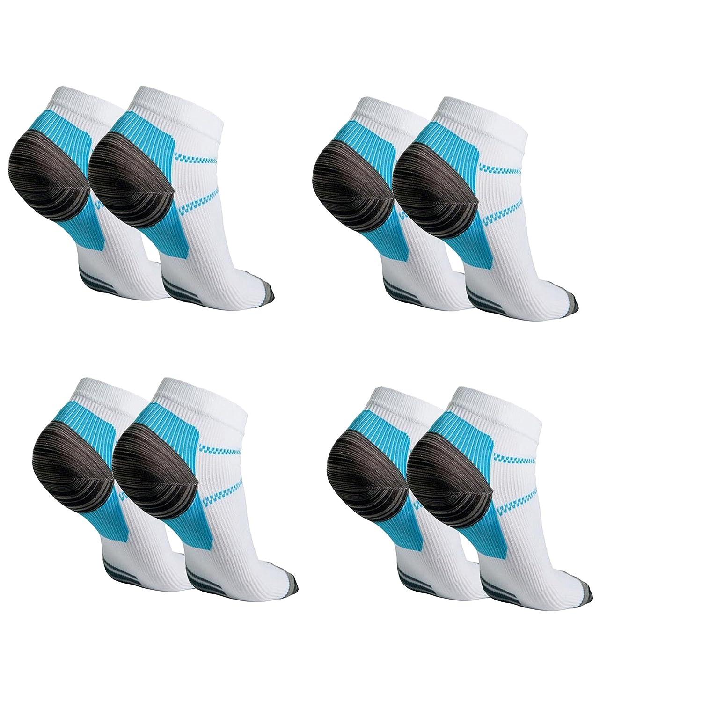 4 Pairs Foot Compression Sock For Plantar Fasciitis Heel Spurs Pain Sport Sock