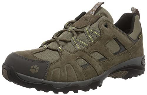 Jack Wolfskin VOJO HIKE TEXAPORE MEN, Wanderschuhe für Herren aus wasserfestem und atmungsaktivem Material, Outdoor Schuhe mit robuster und gut