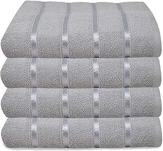 Towelogy® - Juego de toallas de baño 100% algodón egipcio orgánico ...