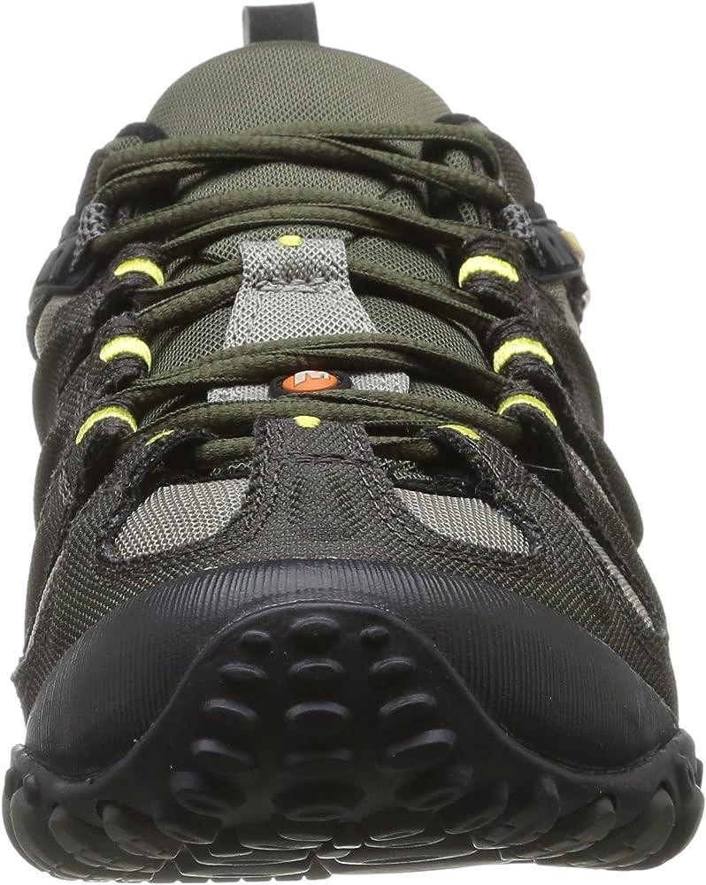 Amazon Com Merrell Men S Chameleon Slam Ii Walking Shoe Orange 9 D M Us Trail Running