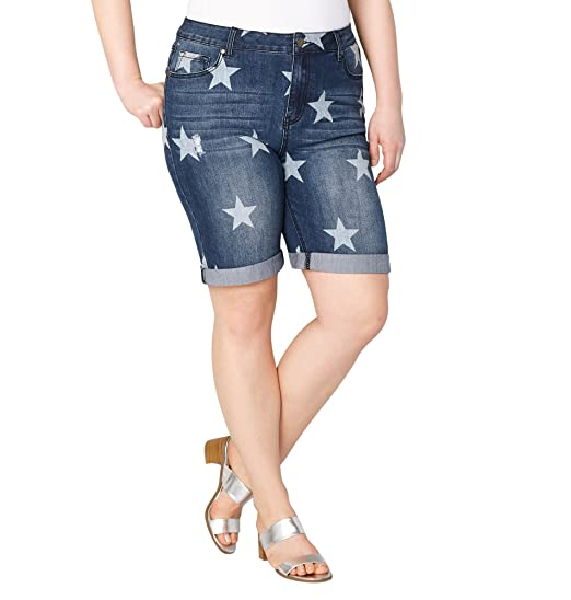 8e34825a170 Avenue Women s Star Denim Short 28-32