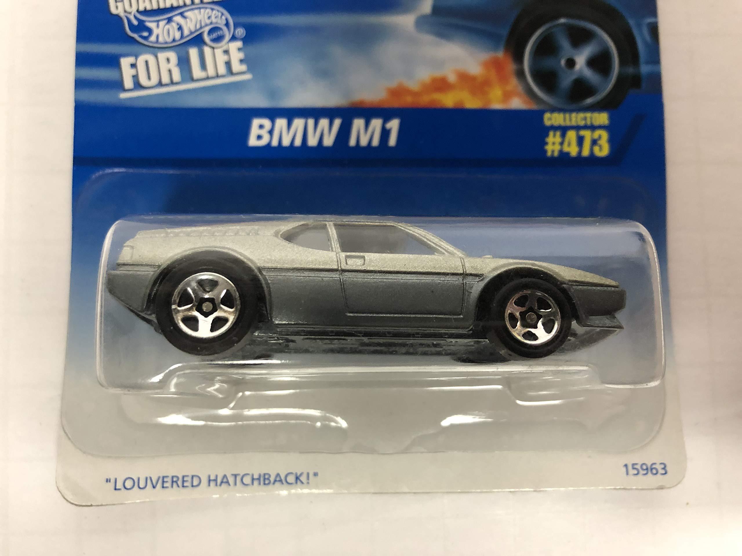 BMW M1 1996 Hot Wheels No. 473 diecast 1/64 scale car