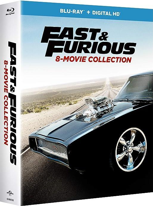 金盒特价 Fast & Furious 速度与激情 1~8合集 蓝光碟*9张 4.3折$29.99 海淘转运到手约¥266