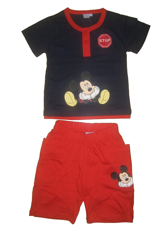 Disney Mickey Mouse Traje de Juego, camiseta de + Bermuda ...