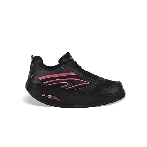 Fitness Step Pink - Zapatillas tonificadoras para mujer: Amazon.es ...
