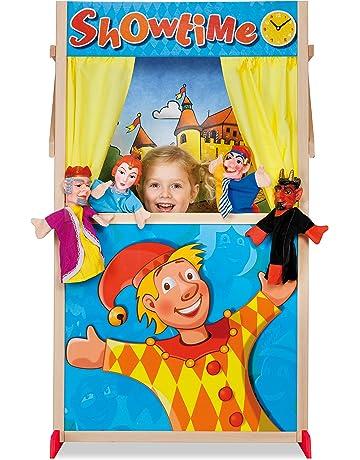 Eichhorn Puppet Theater Booth Guiñol - Juegos de rol (Guiñol, 3 año(s