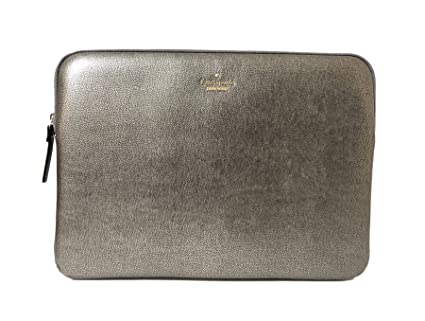 premium selection 5a6e9 c59ab Kate Spade York Laptop Sleeve (Metallic)