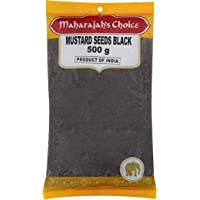Maharajah's Choice Black Mustard Seeds, 500 g