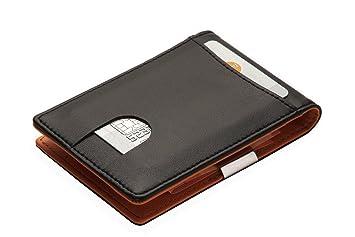 98d9bef2a2314 Portemonnaie mit GELDKLAMMER für Herren  Kreditkartenetui mit Geldclip