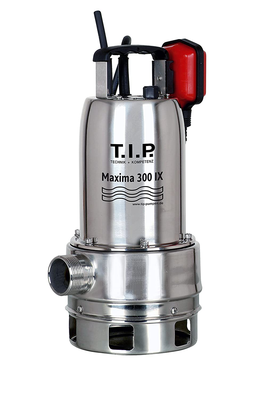 T.I.P. 30116 Bomba de inmersió n para aguas residuales Maxima 300 SX acero inoxidable