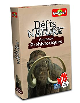 Défis Nature - 282673 - Cartas de Animales prehistóricos ...