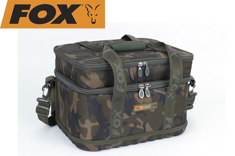 Fox Camolite Rigid Lead and Bits bag 23x15x10cm Angeltasche f/ür Vorfachschnur /& Karpfenbleie Tackletasche zum Karpfenangeln