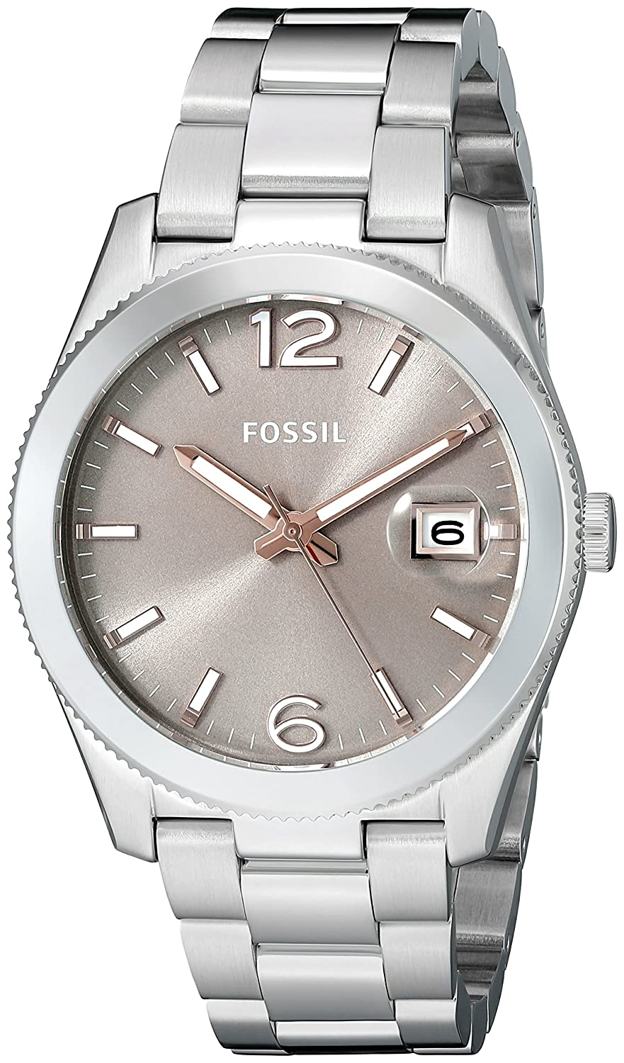 Amazon.com: Fossil Womens ES3828 Perfect Boyfriend Stainless Steel Watch: Fossil: Watches