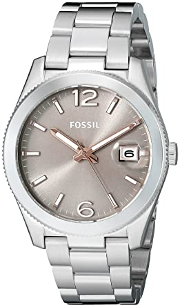 Fossil Womens ES3828 Perfect Boyfriend Stainless Steel Watch