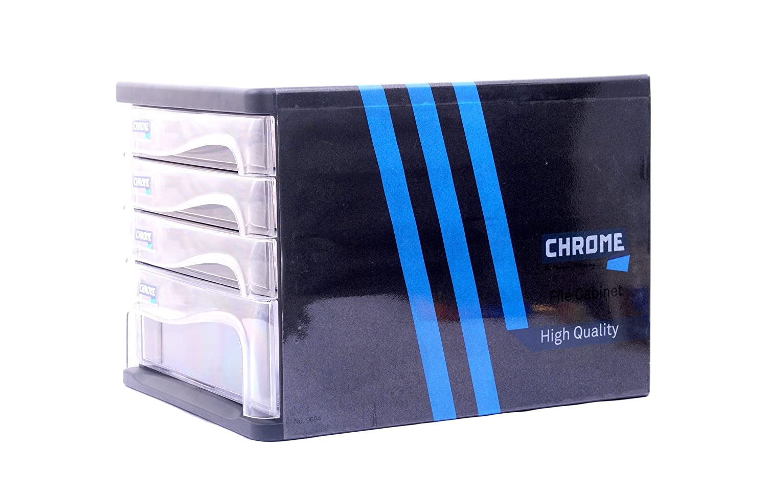 Chrome 9694 - Plastic File Cabinet 4 Drawers: Amazon.in: Home ...