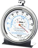 """Culinary Depot 1 Oven Thermometer 50 500 Degrees (1) Refrigerator/Freezer thermometer 20 70 Degrees 3"""" thermometer"""