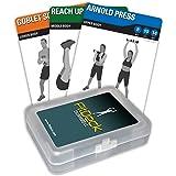 FitDeck Bewegung Spielkarten für geführte Fitness Equipment Workouts