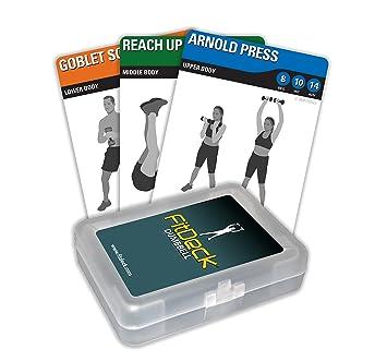 FitDeck - Cartas para entrenamiento con mancuernas: Amazon.es: Deportes y aire libre